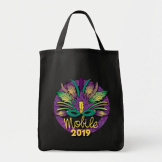 Mobile Mardi Gras Mask Bag 2019