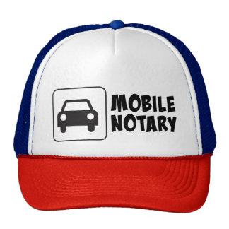 Mobile Notary Public Car Sign Cap