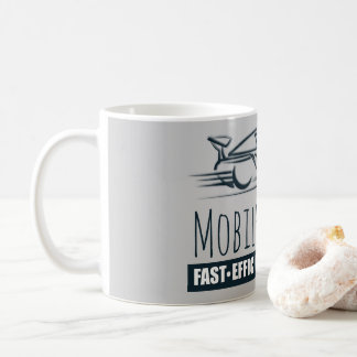 Mobile Notary Public Fast Car Coffee Mug