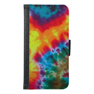 Mobile phone covering, Case, sleeve, hippie, Samsung Galaxy S6 Wallet Case