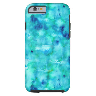 Mobile phone covering in ocean colors tough iPhone 6 case