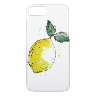 Mobile phone covering - lemon iPhone 8/7 case