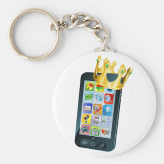 Mobile Phone King Keychains
