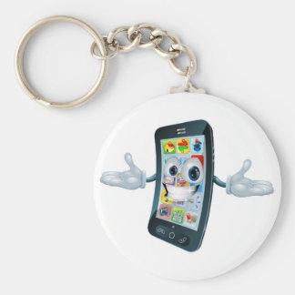 Mobile phone man keychains