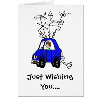 Mobile Rig Funny Ham Radio Birthday Card