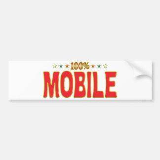 Mobile Star Tag Bumper Stickers