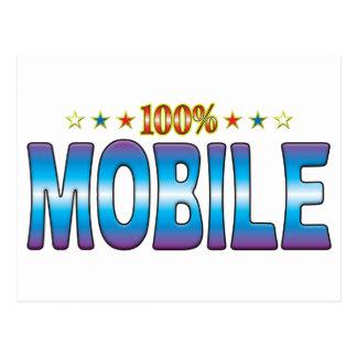 Mobile Star Tag v2 Post Cards