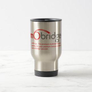 mObridge promotional travel mug