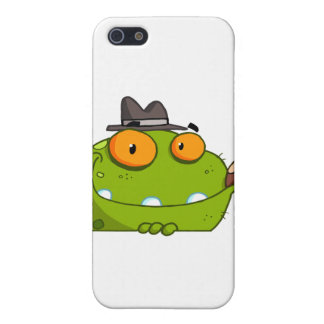Mobster Frog Cartoon Character Cases For iPhone 5