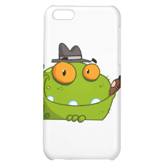 Mobster Frog Cartoon Character iPhone 5C Covers