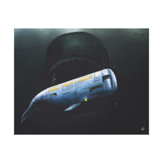 MOBY DICK - 11x14 Canvas Print