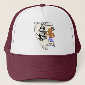 """Moby-Dick"" ~ Queequeg ""Chief Harpooner"" Trucker Hat"