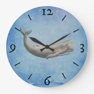 Moby-Dick Whale Wall Clock
