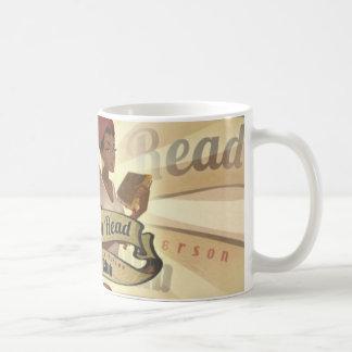 Mocha Girls Read Logo Mug