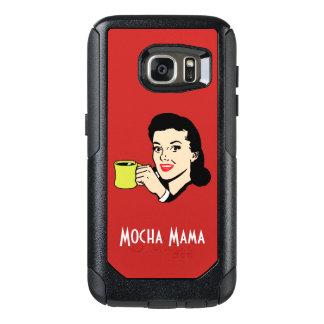 Mocha Mama Fun Vintage Red OtterBox Samsung Galaxy S7 Case