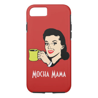 Mocha Mama Vintage Red iPhone 8/7 Case