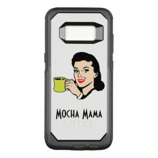 Mocha Mama Vintage White OtterBox Commuter Samsung Galaxy S8 Case