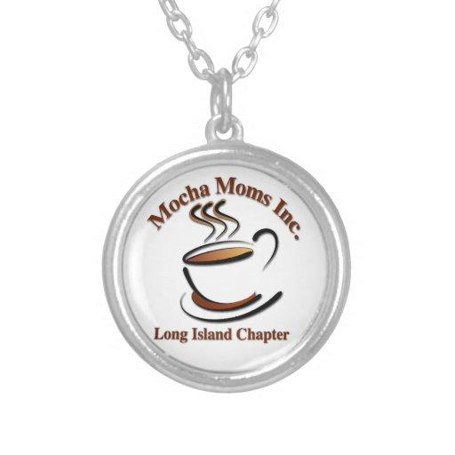 Mocha Moms Silver Necklace