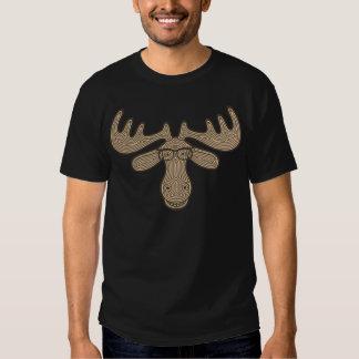 Mocha Moose Tee Shirt
