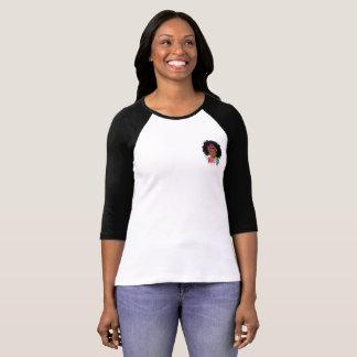 Mocha Princess 3/4 Sleeve T-Shirt