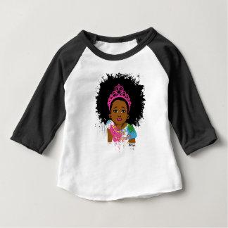 Mocha Princess Baby T-Shirt