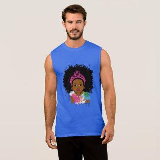 Mocha Princess Sleeveless Sleeveless Shirt