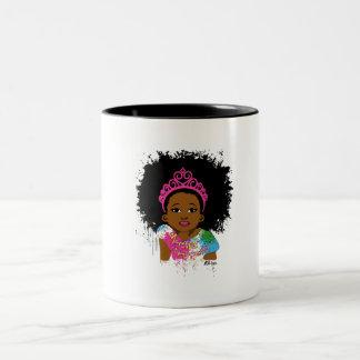 Mocha Princess Two Tone Mug