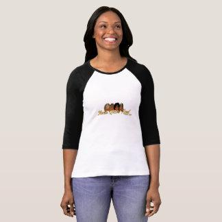Mocha Queens Read Book Club Logo T-shirt