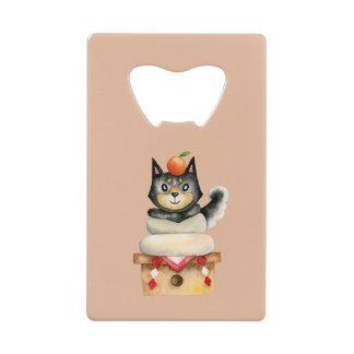 """Mochi Shiba"" Dog Watercolor Illustration"