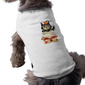 """Mochi Shiba"" Dog Watercolor Illustration Shirt"