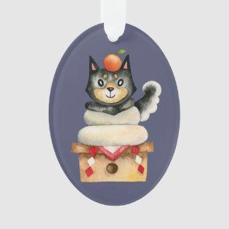 Mochi Shiba Ornament