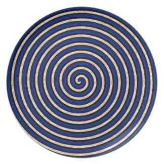 Mock-Mod-Stoneware-Blue-Everyday-Plates Plate