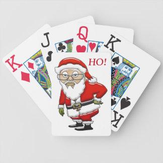 Mocking Santa BICYCLE Playing Cards