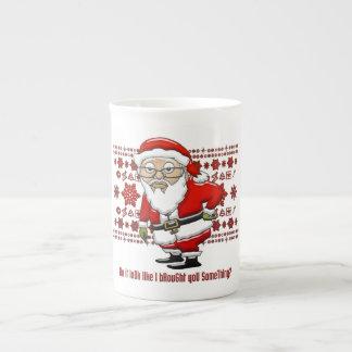 Mocking Santa Mug