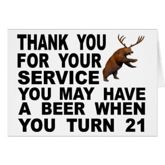 Mocking The 21 Drinking Age Card