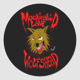 """Mockingbird Lane """"Wolfshead"""" Sticker"""