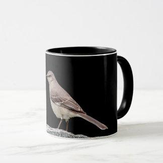 Mockingbird on a tombstone mug