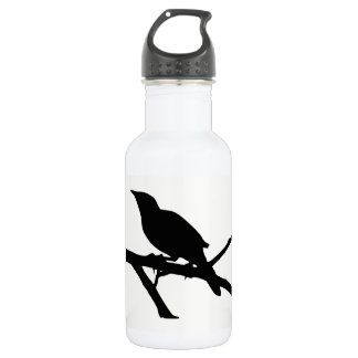 Mockingbird Silhouette 532 Ml Water Bottle