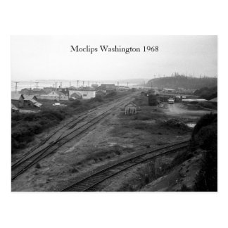 Moclips Washington 1968 Postcard