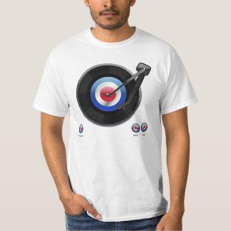 Mod 45 vinyl record player T-Shirt
