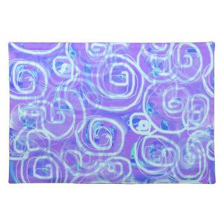 Mod 60s Batik-Styled Placemat(s) Placemat
