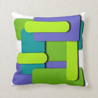 Mod Abstract4 Throw Pillow