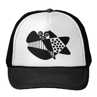 Mod Abstract Hats