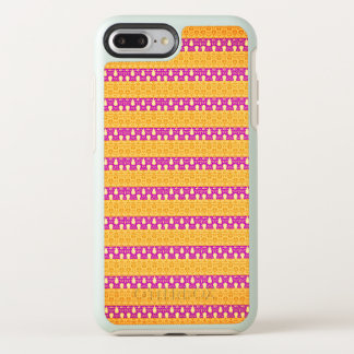 Mod-Accents-Gold-Pink-Stripes-APPLE-SAMSUNG OtterBox Symmetry iPhone 8 Plus/7 Plus Case