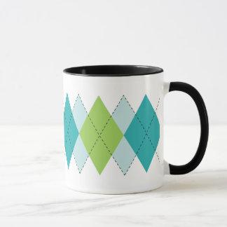 Mod Argyle Mug