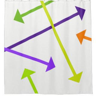 Mod Arrow2 Shower Curtain