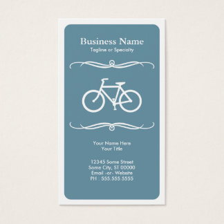 mod bicycle business card