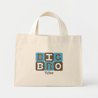 MOD Blocks Big Bro - Blue & Brown Personalized Bags