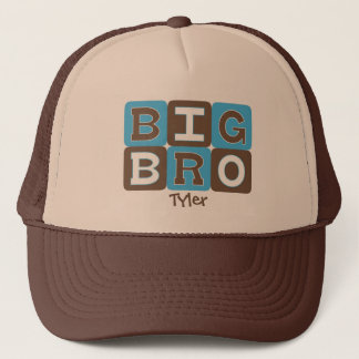 MOD Blocks Big Bro - Blue & Brown Personalized Trucker Hat