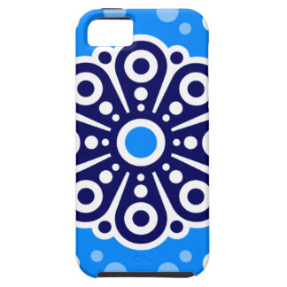 Mod Blue and White iPhone 5 Vibe Case